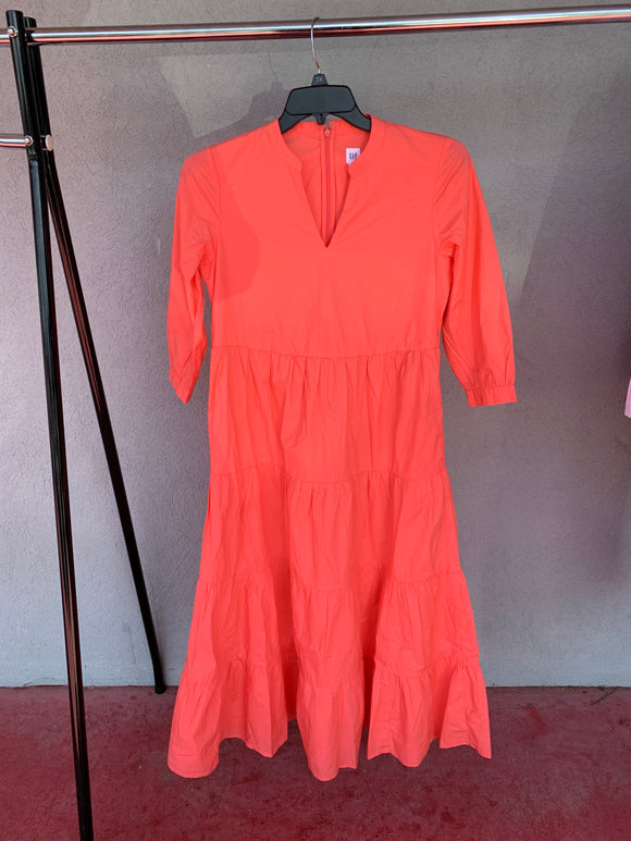 Gap Coral Dress, NWT, Size SP