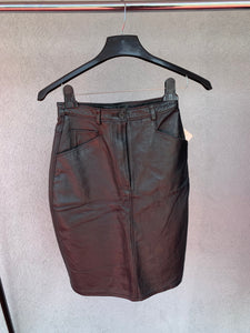 Cripple Creek Real Leather Skirt, NWT, Size S