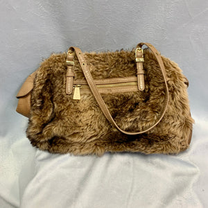 Olivia + Joy Faux Fur Handbag