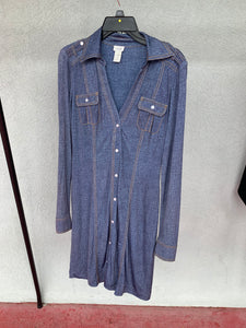 Cache Shirt-Dress, Size M