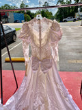 Vintage Wedding Dress, Size 8 (roughly)