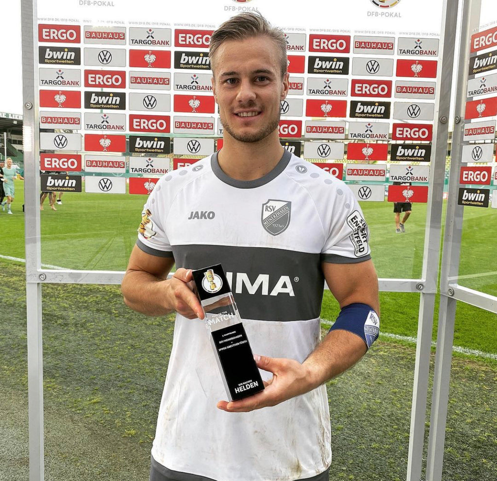"Sven Wurm - ""Man of the Match"" im DFB-Pokal"