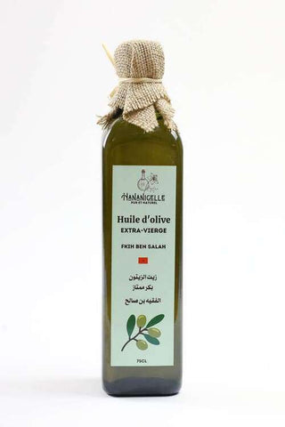 Huile d'olive extra vierge 75cl hananigelle