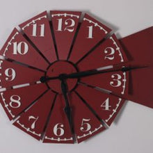 Load image into Gallery viewer, WALLCLOCK0002 - Windmill Clock