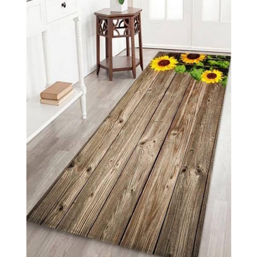FLOORDECOR0016 - Sunflower Dark Wood Rug
