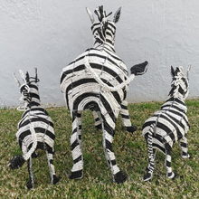 Load image into Gallery viewer, GODFREY0005 - Zebra Mommy and Babies (set of 3)