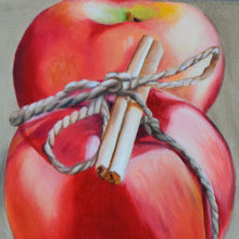 Load image into Gallery viewer, MARIAN0002 - Two Apples with String