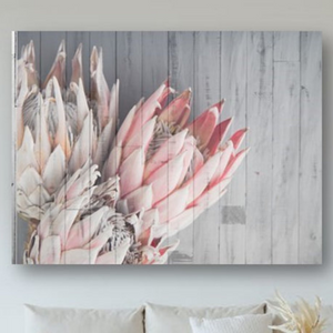 WALLDECOR0005 - 2020 Wood Protea Side 3 in 1