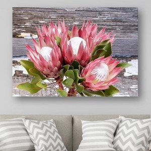 WALLDECOR0029 - Protea Bunch Rustic