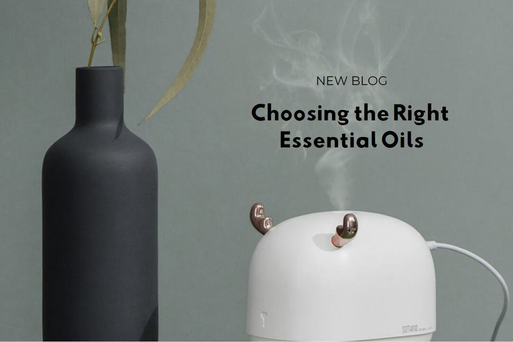 How Do I Use and Choose The Right Essential Oils?