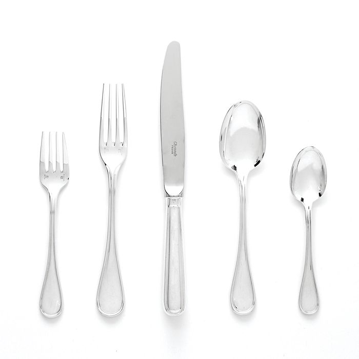 Christofle Albi Sterling Silver 5 Piece Place Setting