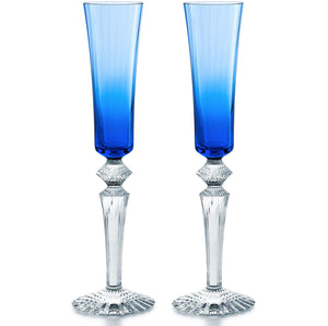 Baccarat Mille Nuits Flutissimo, Set of 2, Multiple Colors Available