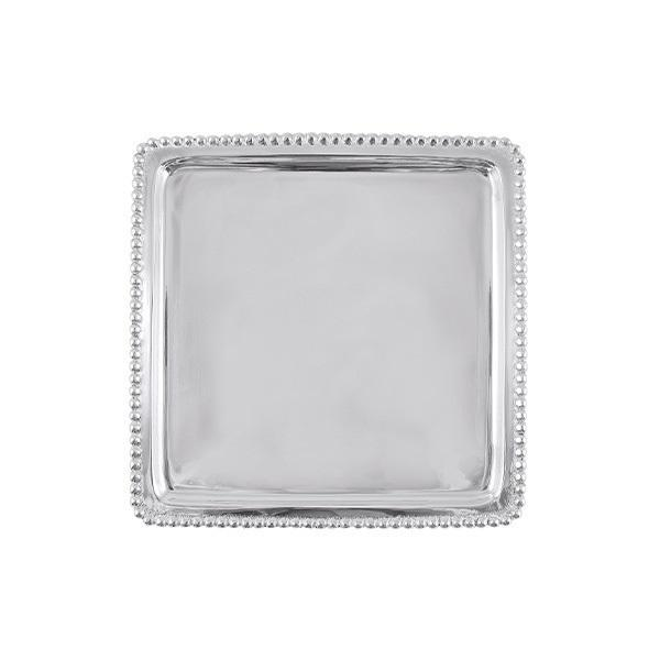 Mariposa Beaded Luncheon Tray