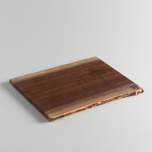 Andrew Pearce Double Live Edge Cutting Board Black Walnut
