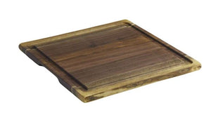 Andrew Pearce Double Live Edge Cutting Board with Juice Groove in Black Walnut