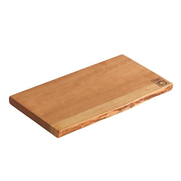 Andrew Pearce Single Live Edge Cutting Board in Cherry Wood