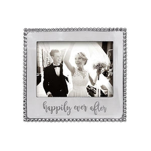 Mariposa HAPPILY EVER AFTER... Beaded 5x7 Frame