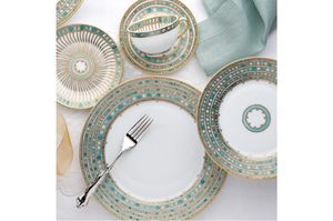 Haviland Syracuse Turquoise 5 Piece Place Setting