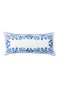 "Juliska Iberian Journey Indigo Pillow  12""x27"""