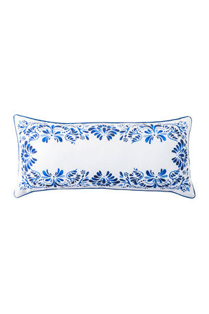 Juliska Iberian Journey Indigo Pillow  12