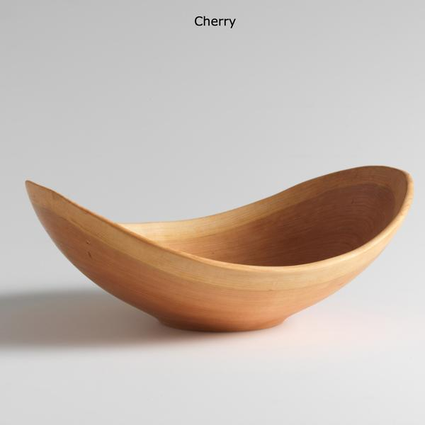 Cherry bowls with natural edge