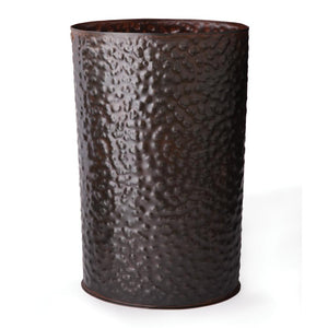 Jan Barboglio Wastebasket Tall Oval