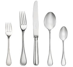 Christofle Albi Silver Plated 5 Piece Place Setting