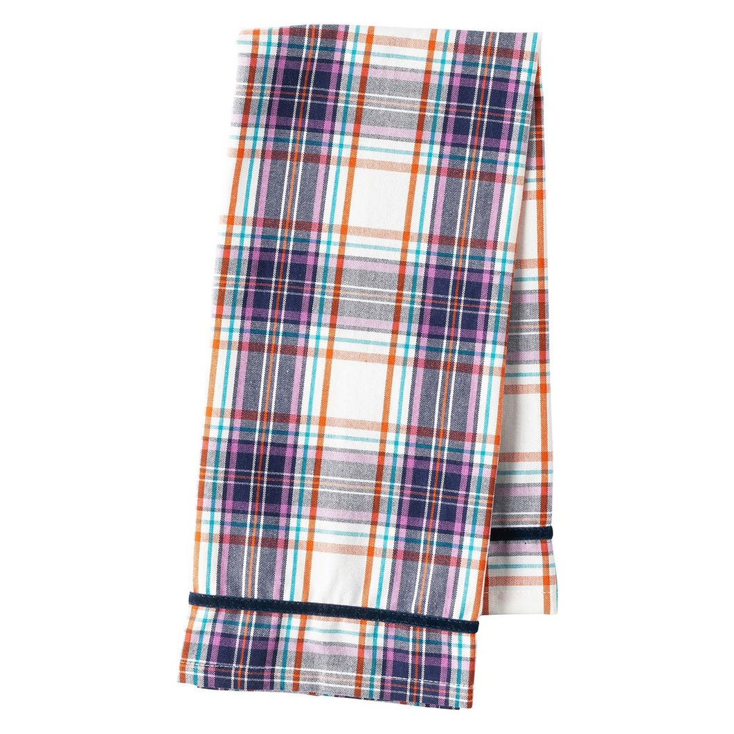 Juliska Alpine Plaid Tea Towel