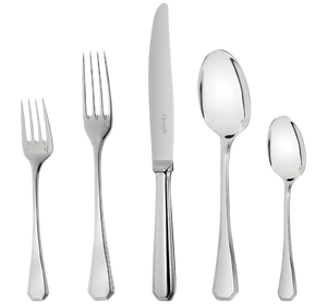 Christofle America Silver Plated 5 Piece Place Setting