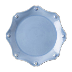 Juliska Berry & Thread Chambray Scalloped Dessert/Salad Plate