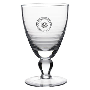 Juliska Berry & Thread Glassware Footed Goblet