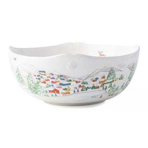 "Juliska Berry & Thread North Pole 10"" Serving Bowl"