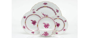 Herend Chinese Boquet 5 Piece Place Setting ~ Available in Multiple Colors