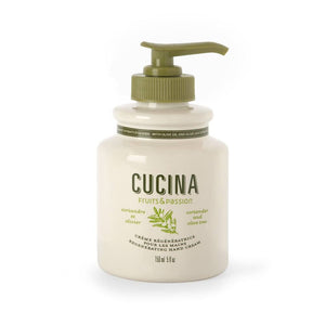 Cucina Fruits & Passion Coriander & Olive Tree Hand Cream