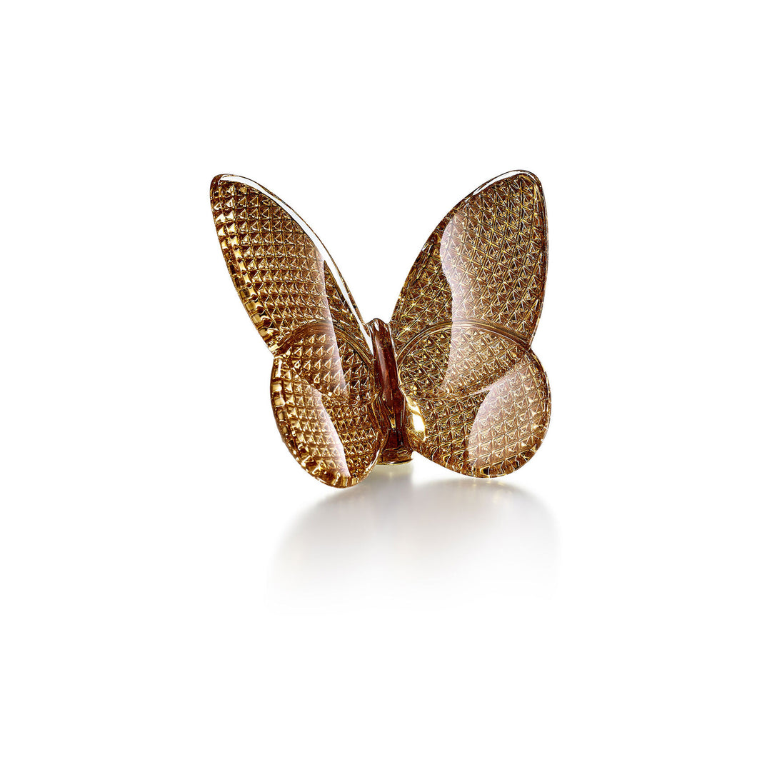 Baccarat Diamant Butterfly, Gold
