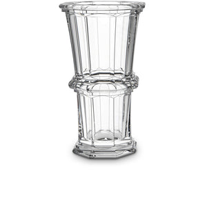 Baccarat Harcourt Vase, Straight Tall - Clear