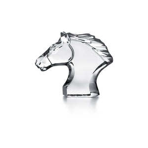 Baccarat Horse Head, Small