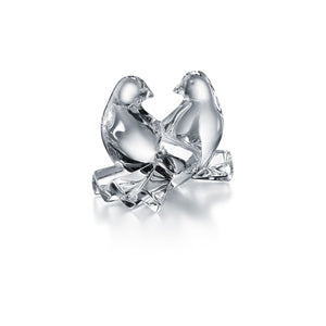 Baccarat Loving Doves, Clear