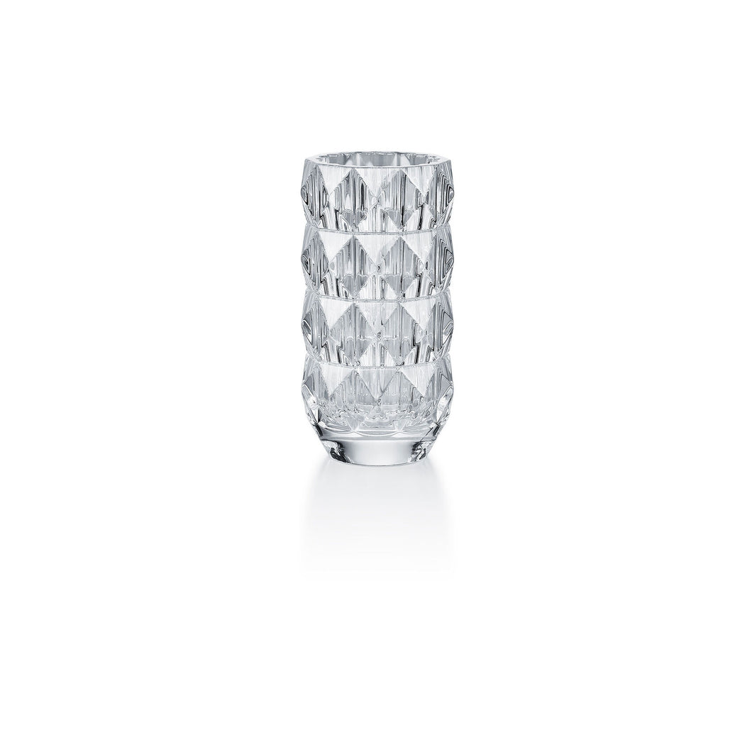 Baccarat Louxor Round Vase, Small - Clear