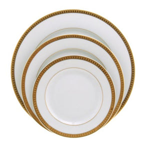 Christofle Malmaison Gold 5 Piece Place Setting