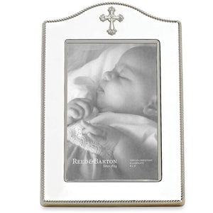 "Reed & Barton Abbey Cross 4""x6"" Picture Frame"
