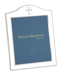"Reed & Barton Abbey Cross 5""x7"" Picture Frame"