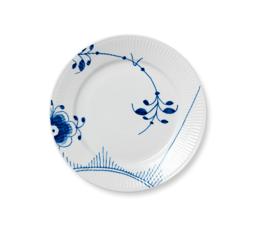 Royal Copenhagen Blue Fluted Mega Salad Plate #2