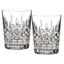 Load image into Gallery viewer, Waterford Lismore Double Old Fashioned Set of 2