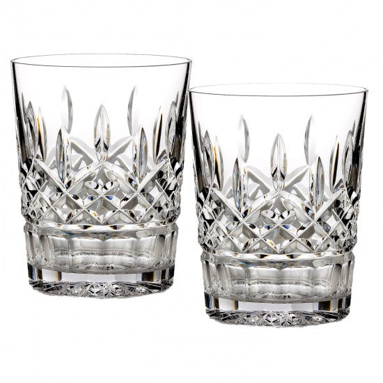 Waterford Lismore Double Old Fashioned Set of 2