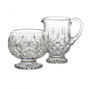 Waterford Lismore Footed Creamer & Sugar