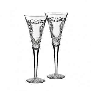 Waterford Wedding Toasting Flue S/2
