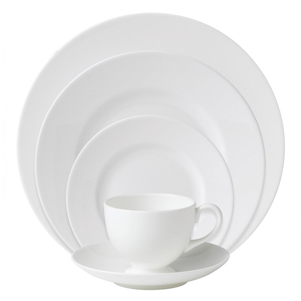 Wedgwood White 5pc Place Setting