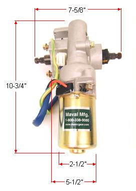 Replacement Motor for 170w Electra-Steer Kits