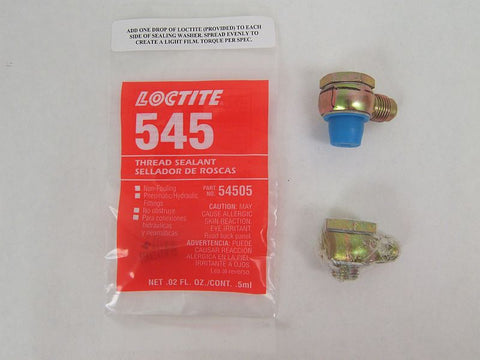 14mm and 16mm Banjo Kit with Loctite